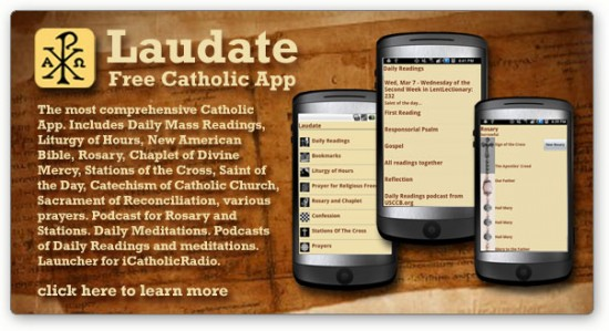 Laudate catholic website